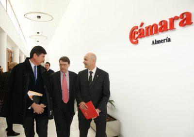 Con Jordi Sevilla y Manuel Pimentel