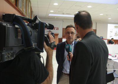 Entrevista de los medios