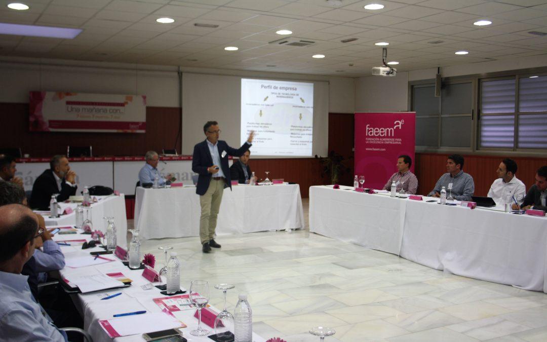 Ángel Barranco, presidente de IDM, protagonista de la quinta edición de Una Mañana Con…