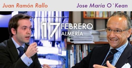Juan Manuel Rallo y José  María O´kean