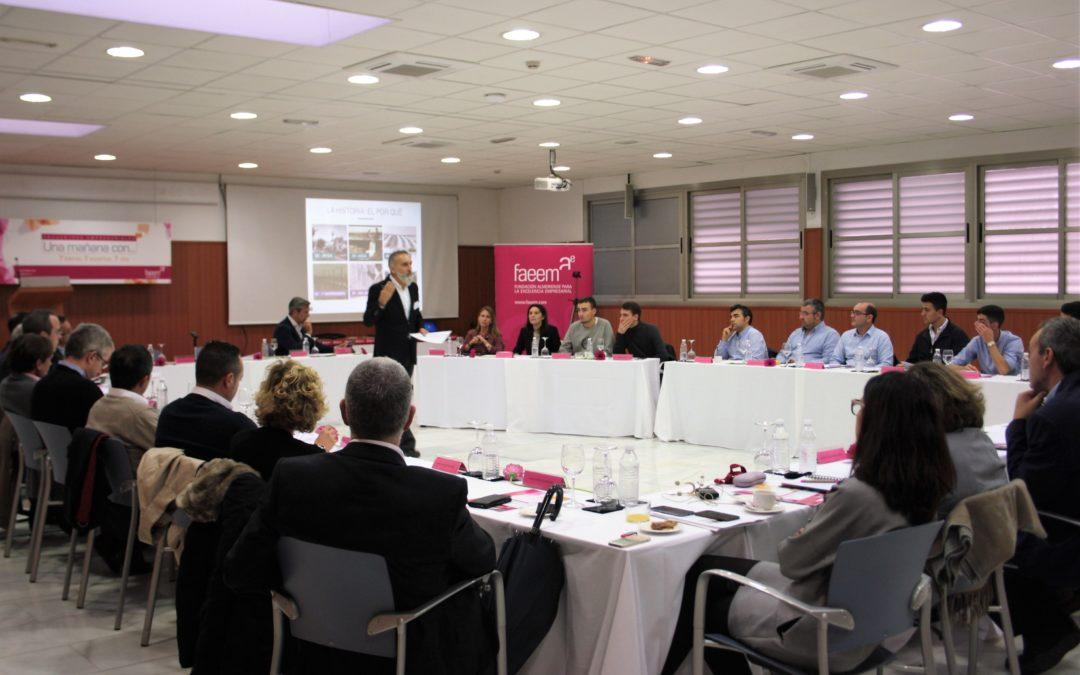 Miguel López, adjunto a la presidencia en Agroponiente, da las claves del éxito del sector agrícola en la sexta edición de Una Mañana Con…